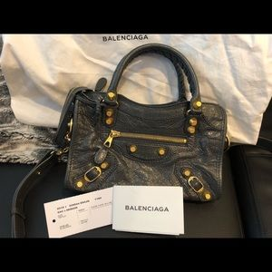 Balenciaga Giant12 Mini City Shoulder Bag